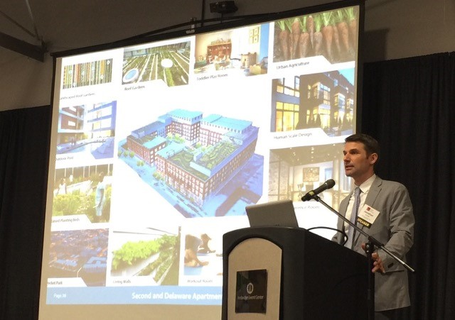 Jonathan Arnold, developer, presents his Second and Delaware project.